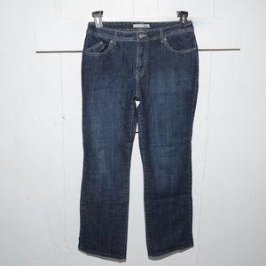 Chico's luminous womens jeans size 1.5 x 28.5 3600